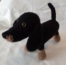 Crochet Dachshund Handmade