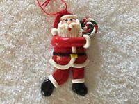 Vintage Collectible Santa Christmas Ornament
