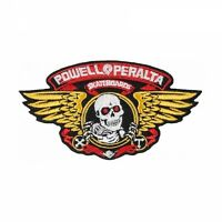 Powell Peralta Winged Ripper Skateboard Patch 5in Adhesive Iron on Patch