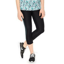 21a8a039e2da48 Oh Baby by Motherhood Maternity Womens Cropped Leggings Black Work Out Sz S  NWT