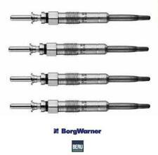 4 x BERU Heater Glow Plugs BMW E46 318d,320d M47N engs GE102, 12237786869