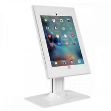 "Anti-theft Counter Top Mount for iPad Pro 12.9"" INC Key & Lock White BRATECK"