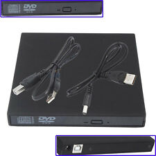 New USB 2.0 External DVD Combo CD-RW Burner Drive CD±RW DVD ROM Black