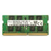 SK Hynix 8GB 2Rx8 PC4-2133P-SE0-11 DDR4 SODIMM SDRAM RAM HMA41GS6AFR8N-TF NO AC