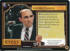 Buffy TVS CCG Limited Class Of 99 Common Card #33 Locker Search