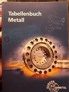 Tabellenbuch Metall mit Formelsammlung 48.Auflage