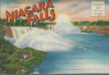 NIAGARA FALLS Vintage LINEN Folder ~ 20 Views