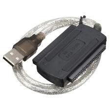 USB 2.0 SATA SATA2.5 3.5 to IDE Hard Drive Converter Adapter Cable