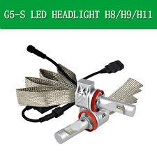 2x Philips 20W 4000LM G5-S LED Headlight Kit H8/H9/H11 White 6500K  LUXEON ZES