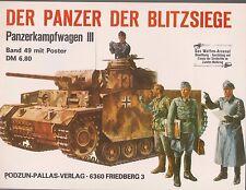 Waffen Arsenal Band 49 Der Panzer Der Blitzsiege Panzerkampf (2. Band ) + Poster