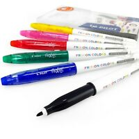 Pilot Frixion Colors Erasable Marker Pens – Wallet of 6 Assorted Colours