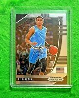 RJ HAMPTON SILVER CHROME ROOKIE CARD JERSEY#10 USA RC NUGGETS 2020 PRIZM DP RC