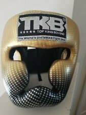 TOP KING BOXING HEAD GEAR - NEW W/O TAGS - FREE SHIPPING - LARGE - 7 DAY SALE !
