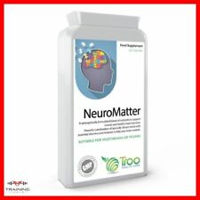 NeuroMatter Brain Support Complex 90 Capsules Cognitive Function Troo Health