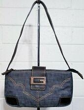 GUESS DENIM MINI SHOULDER BAG Handbag Vintage style Purse