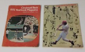 Magazine CINCINNATI REDS YEARBOOK 1975 1978 RIVERFRONT PETE ROSE