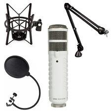 Rode Podcaster USB Mic Booming Kit w/ PSA1 Arm, PSM1 Shock Mount & Pop Filter