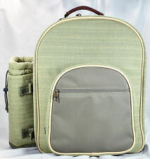 Picnic At Ascot For Two Backpack Olive Hamptons New Other With Tags