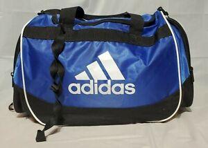 Adidas Defender Duffel Bag Gym NWOT New Royal Blue