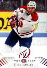 2008-09 Upper Deck Montreal Canadiens Centennial #66 Kirk Muller