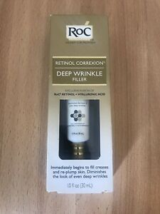 RoC Retinol Correxion Deep Wrinkle Filler Cream Anti-Wrinkle Daily Night Men