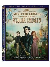 Miss Peregrine's Home for Peculiar Children 3D Blu-Ray + Digital HD Ultraviolet