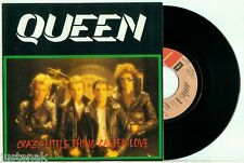 QUEEN - 45 with LABEL ERROR - Crazy Little Thing (1979) - DUTCH / HOLLAND PS 7""