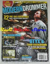 MODERN DRUMMER Magazine SEALED Ott 2008 Todd Sucherman Patrick Keeler  No cd