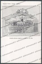BERGAMO CLUSONE 37 DANZA MACABRA - VAL SERIANA Cartolina