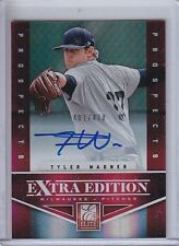 TYLER WAGNER 2012 ELITE EXTRA EDITION PROSPECT AUTO 401/478