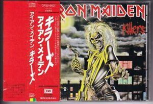 IRON MAIDEN-Killers JAPAN CD w/OBI CP32-5107