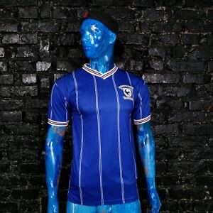Cardiff City Jersey Retro Replica Home Shirt 1987 - 1988 Retro Range Mens Size M
