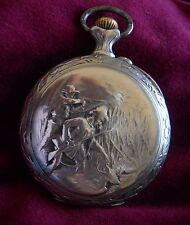 Pocket Watch FRAINIER 1892 con relieve, en Argentan (1033)