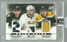 2012-13 Panini Prime Trios Patch Black Box #19 Tyler Seguin 1/1 (ref 8196)