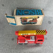 Kranwagen BISON ADK 120 Friction - DDR VEB Spielzeug