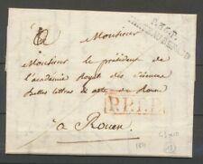 1821 Lettre Marque Linéaire P36P Château Renault INDRE ET LOIRE(36) X2320