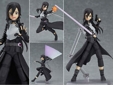 Collections Anime Figure Toy Sword Art Online Kirito Figma Figurine Statues 12cm