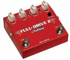 Fulltone Full-drive 2 V2 Overdrive Effects Pedal