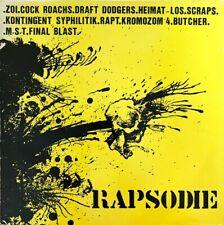 Rapsodie (Compil Hardcore / Punk) - Vinyl LP 33T + insert