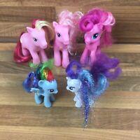 5 x My Little Pony Pinkie Pie Butter Pop Pinkie Pie's Mom Rainbow Dash & Rarity