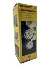 AutoMeter 20436 2-Gauge Pillar Pod,97-01 Honda Prelude,2-1/16 In