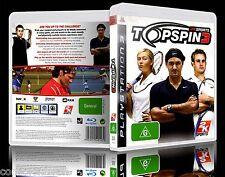 (PS3) Top Spin 3 / III (G) (Sports: Tennis) Guaranteed, 100% Tested, Australian