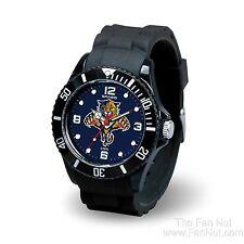 Florida Panthers Spirit Watch Team Color Logo Black Band NHL Hockey