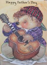 Gordan Fraser Country Companions New/Old Stock Father's Day Greeting Card