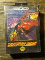 OutRun 2019 (Sega Genesis, 1993) Game and Box - No Manual