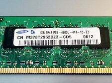 Samsung 1GB M378T2953CZ3 2RX8 PC2-4200U-444-12-E3  DDR2 533 Memory