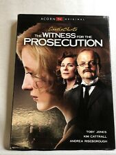 The Witness for the Prosecution (Dvd, 2017) Toby Jones, Kim Cattrall Sealed New
