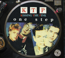 """KTP Kissing The Pink - One Step Ultra Rare 12"""" Picture Disc Single Promo LP NM"""