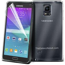 SUPER CHIARO TPU GEL SKIN CASE COVER & Screen Guard Per Samsung Galaxy nota 4