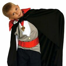 Capa vampiro dracula infantil 90 cm disfraz halloween